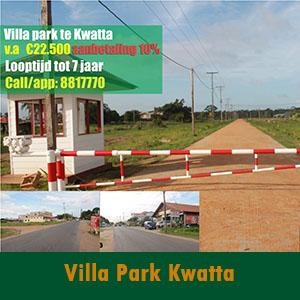 Villa Park Te Vierde Rijweg Kwatta
